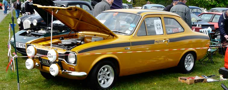 Cheshire Classic Car Club Events - Classic car events